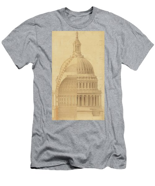 United States Capitol, Section Of Dome, 1855 Men's T-Shirt (Athletic Fit)