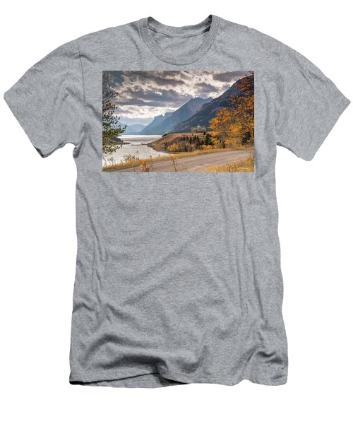 Upper Waterton Lakes Men's T-Shirt (Athletic Fit)