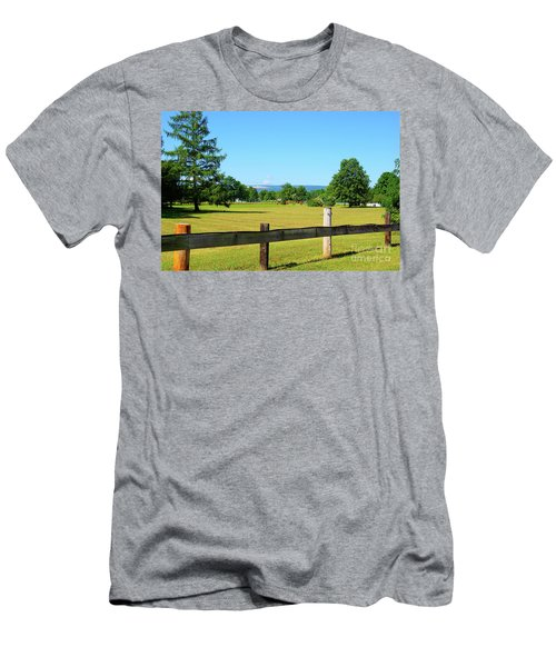 Upstate New York Men's T-Shirt (Athletic Fit)