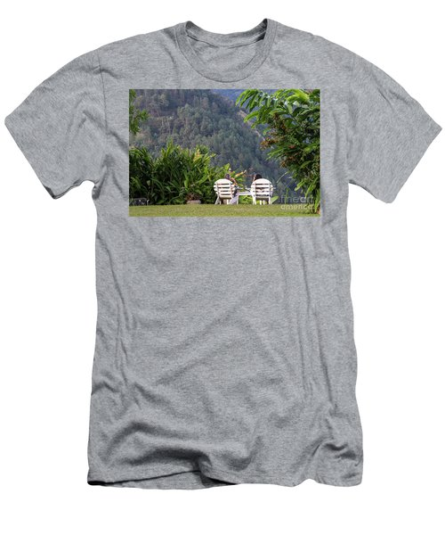 Vacation On Strawberry Hill Men's T-Shirt (Athletic Fit)