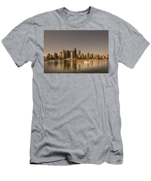 Vancouver Golden Light Hour Men's T-Shirt (Athletic Fit)