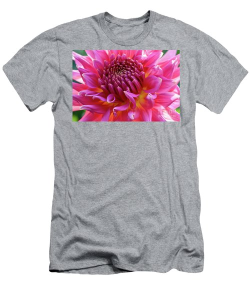 Vibrant Dahlia Men's T-Shirt (Athletic Fit)