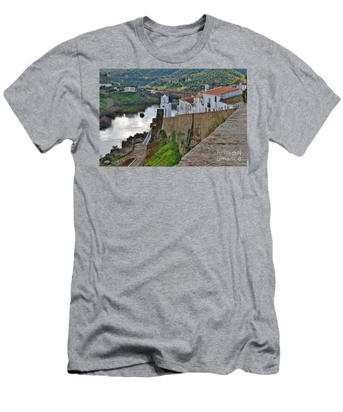 View From The Medieval Castle Men's T-Shirt (Athletic Fit)