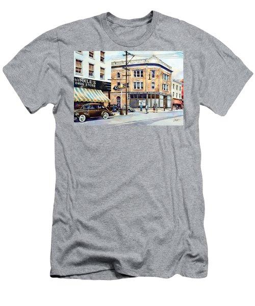 Vintage Color, Hinkle's Men's T-Shirt (Athletic Fit)