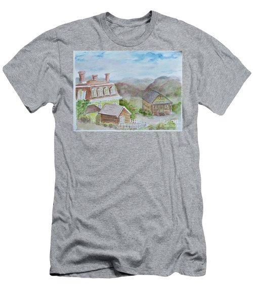 Virginia City Nevada Men's T-Shirt (Athletic Fit)