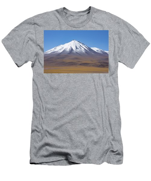 Volcano On The Altiplano Men's T-Shirt (Athletic Fit)
