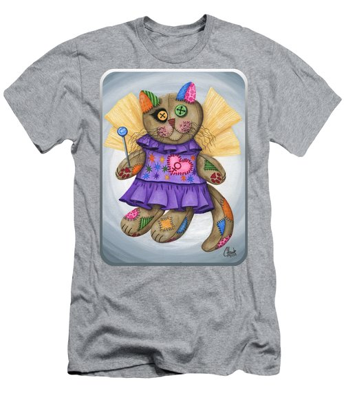 Voodoo Empress Fairy Cat Doll - Patchwork Cat Men's T-Shirt (Athletic Fit)