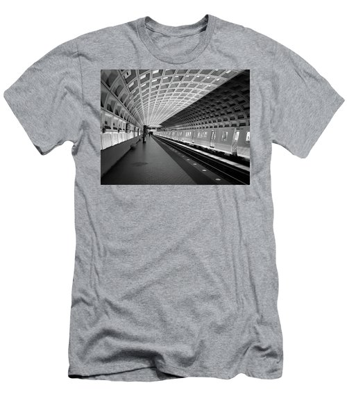 Waiting At Pentagon City Station Men's T-Shirt (Athletic Fit)