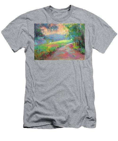 Walking By Faith Men's T-Shirt (Athletic Fit)