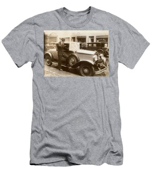 Wall Street Crash, 1929 Men's T-Shirt (Athletic Fit)