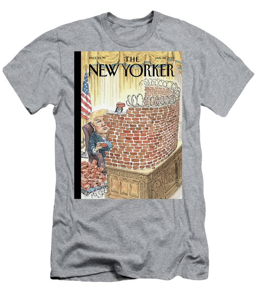 Walled In Men's T-Shirt (Athletic Fit)