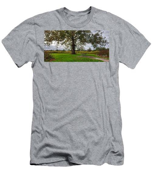 Walnut Woods Tree - 1 Men's T-Shirt (Athletic Fit)