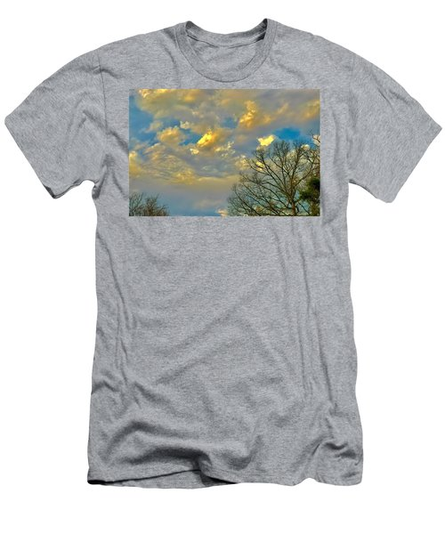 Warm And Cool Sky Men's T-Shirt (Athletic Fit)