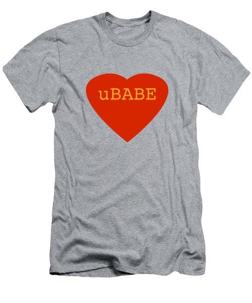 Warm Love Heart Men's T-Shirt (Athletic Fit)