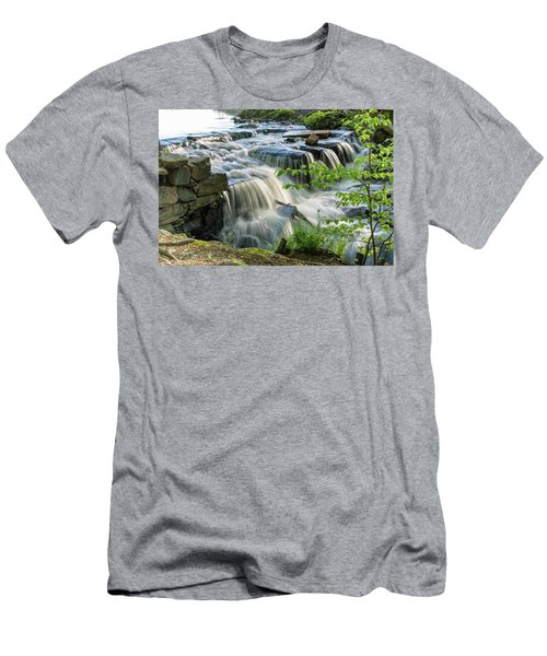 Waterfall At The Old Mill  Men's T-Shirt (Athletic Fit)