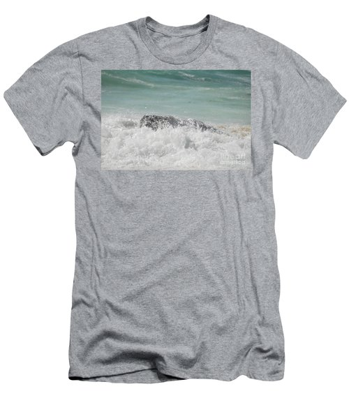 Waves Men's T-Shirt (Athletic Fit)