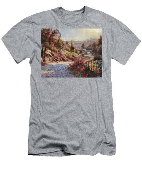 We Will Walk In His Paths 2 Men's T-Shirt (Athletic Fit)