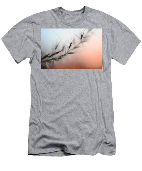 Men's T-Shirt (Athletic Fit) featuring the photograph Weed Abstract by Marianna Mills