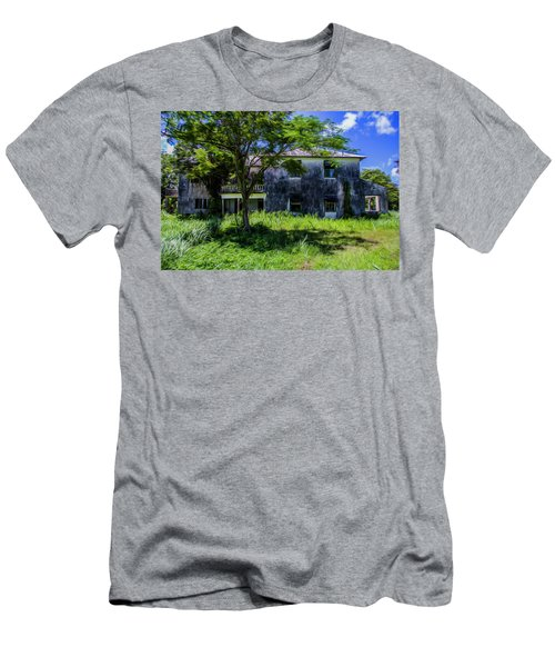 Men's T-Shirt (Athletic Fit) featuring the photograph Westmoreland Plantation by Stuart Manning