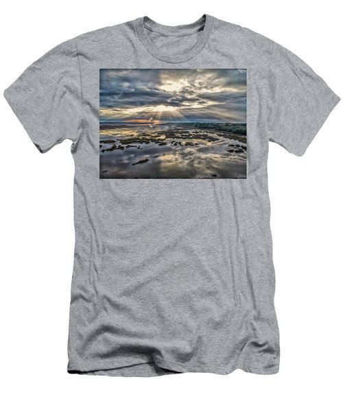 Whale Branch - Angel Rays Men's T-Shirt (Athletic Fit)