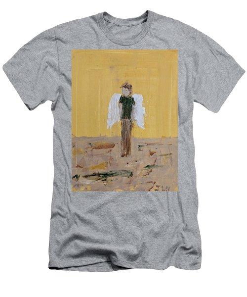 Whistling Angel Men's T-Shirt (Athletic Fit)