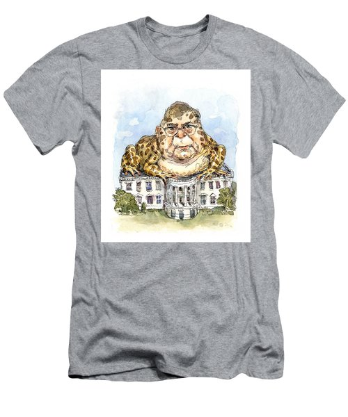 White House Toady Men's T-Shirt (Athletic Fit)