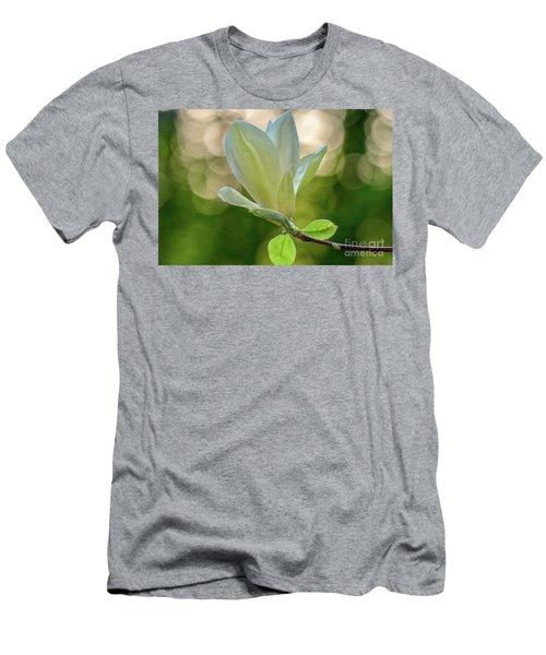 White Magnolia Men's T-Shirt (Athletic Fit)