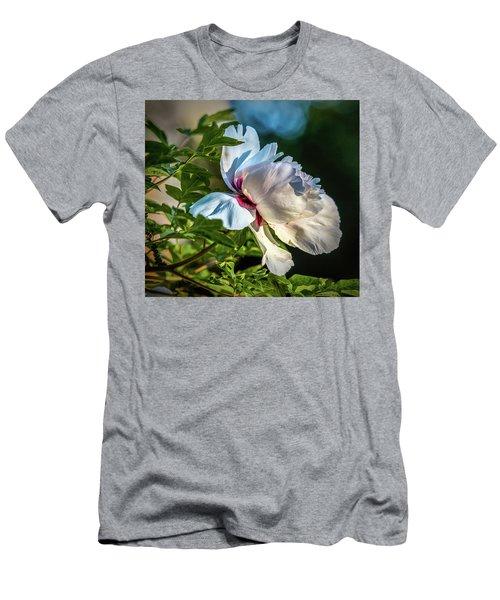 White Petals #i4 Men's T-Shirt (Athletic Fit)