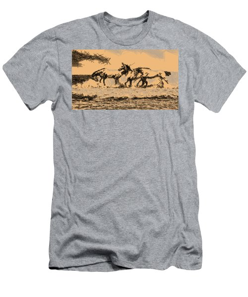 Wild Horses Men's T-Shirt (Athletic Fit)