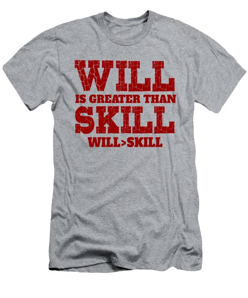 Will Skill Men's T-Shirt (Athletic Fit)
