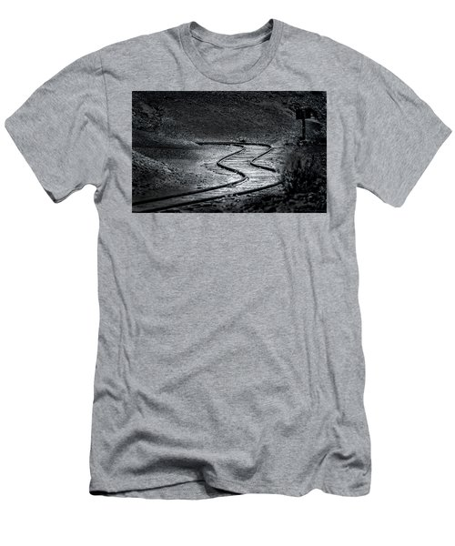 Winding Road Ahead Men's T-Shirt (Athletic Fit)