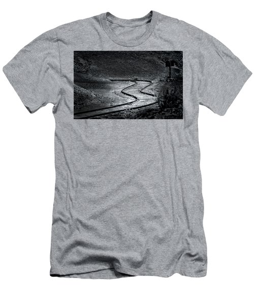 Winding Road Ahead Men's T-Shirt (Athletic Fit)