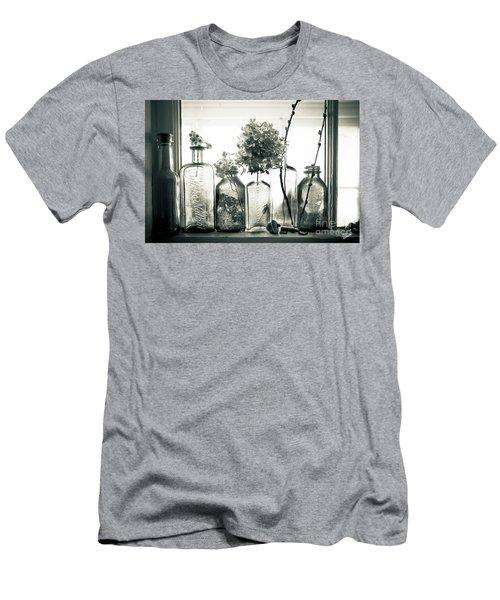 Windowsill Bottles Men's T-Shirt (Athletic Fit)