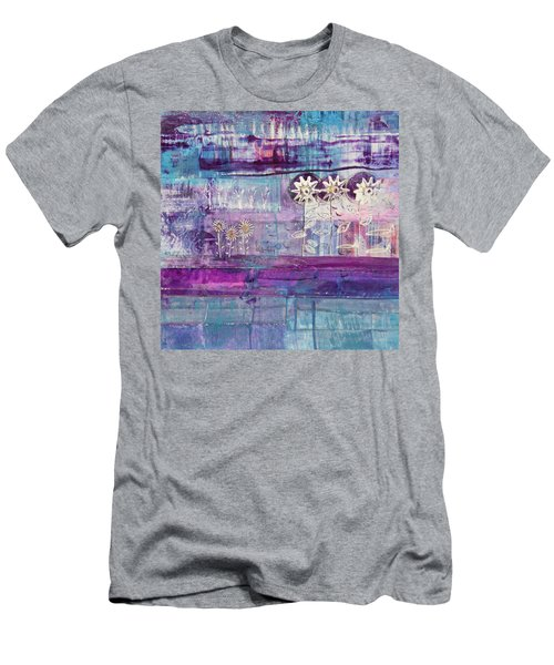 Winter Blues 2 Men's T-Shirt (Athletic Fit)