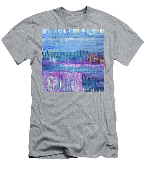 Winter Blues 3 Men's T-Shirt (Athletic Fit)