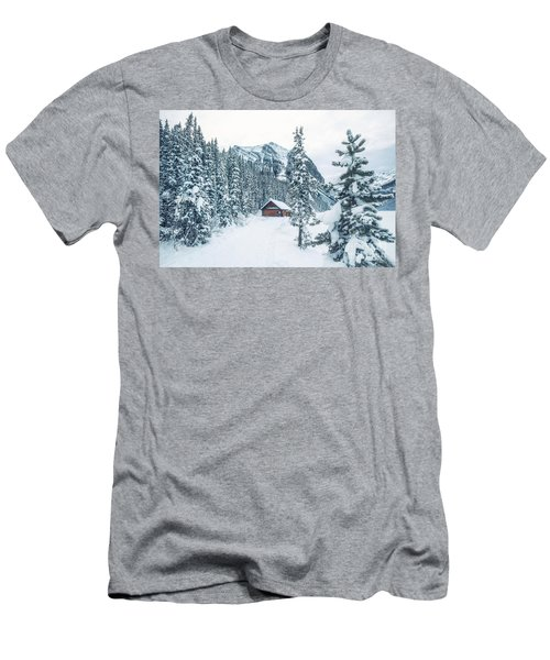 Winter Comes When You Dream Of Snow Men's T-Shirt (Athletic Fit)