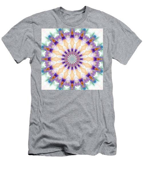 Winter Daisy Men's T-Shirt (Athletic Fit)