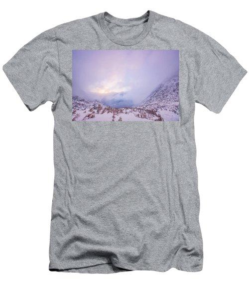 Winter Morning Light Tuckerman Ravine Men's T-Shirt (Athletic Fit)