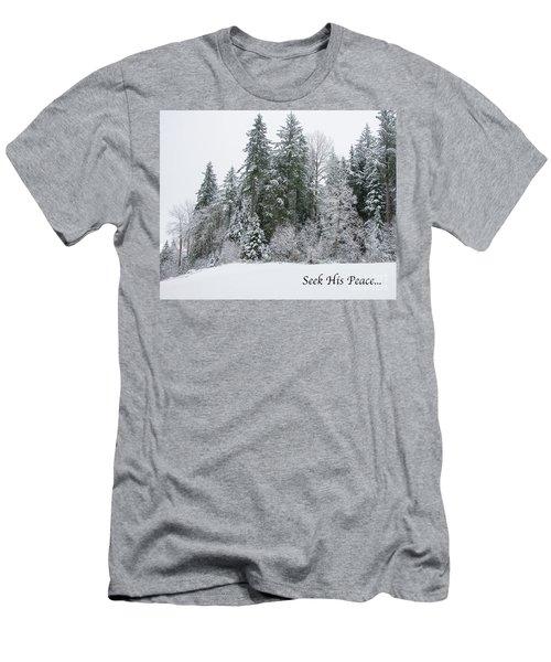 Winter Peace Men's T-Shirt (Athletic Fit)