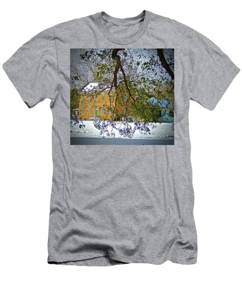 Men's T-Shirt (Athletic Fit) featuring the photograph Winter White by Don Moore
