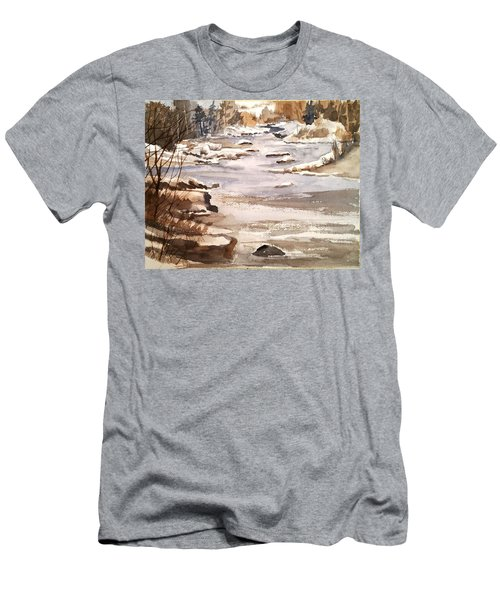 Winters Day Men's T-Shirt (Athletic Fit)