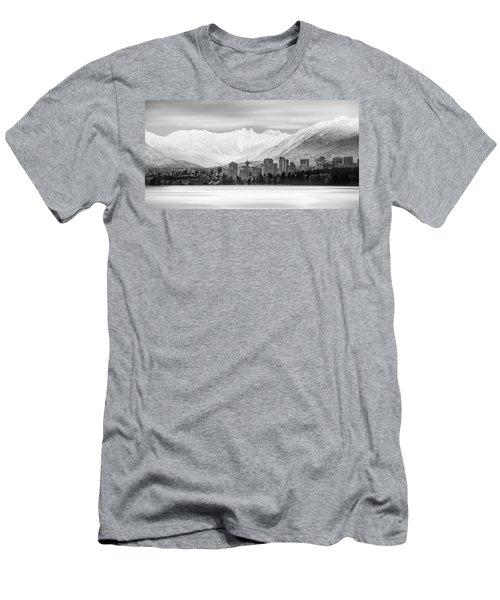 Winterscape Vancouver Men's T-Shirt (Athletic Fit)