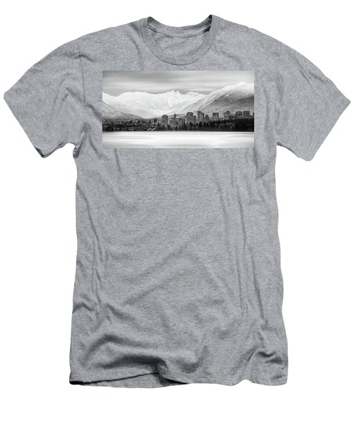 Winterscape Vancouver Men's T-Shirt (Athletic Fit)