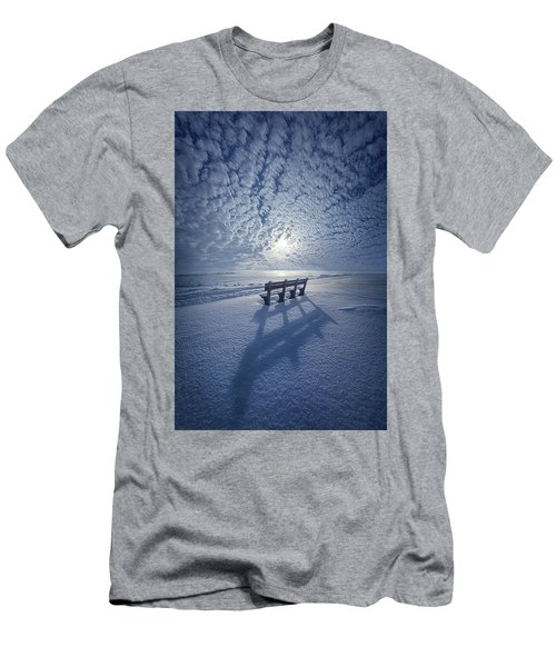 Within The Absence Are The Memories Men's T-Shirt (Athletic Fit)