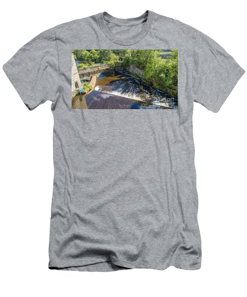 Men's T-Shirt (Athletic Fit) featuring the photograph Withstanding Time by Michael Hughes