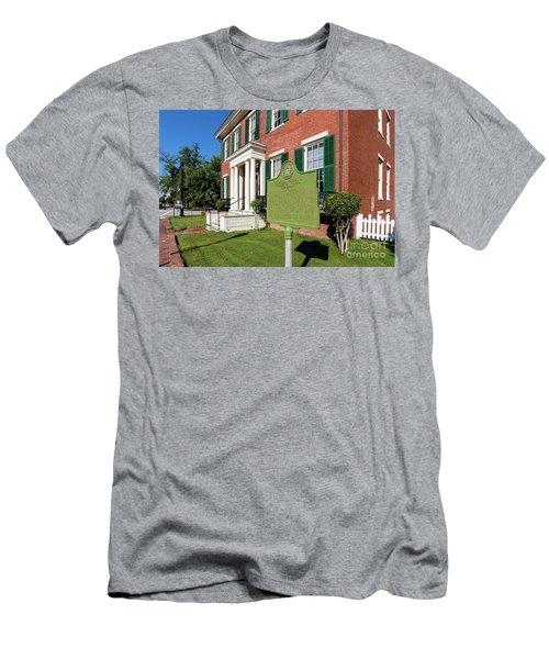 Woodrow Wilson Boyhood Home - Augusta Ga 1 Men's T-Shirt (Athletic Fit)