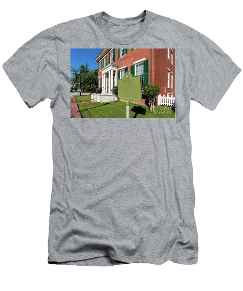 Woodrow Wilson Boyhood Home - Augusta Ga 1 Men's T-Shirt (Athletic Fit)