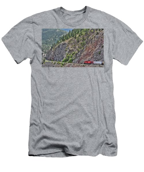 Work Tracks Men's T-Shirt (Athletic Fit)