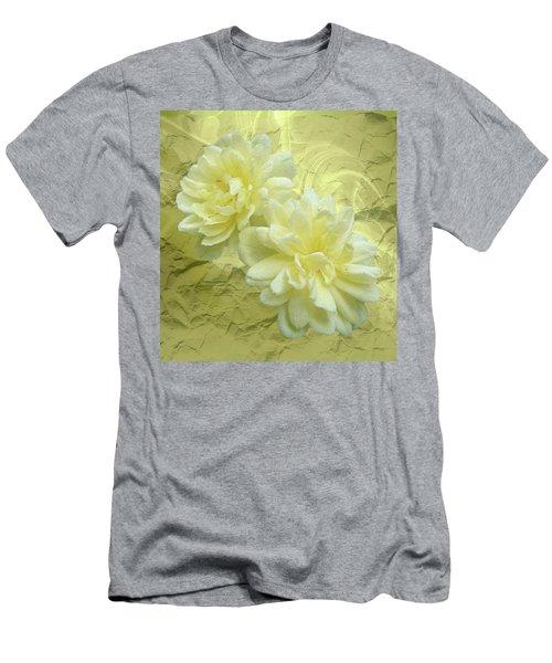 Yellow Foil Men's T-Shirt (Athletic Fit)