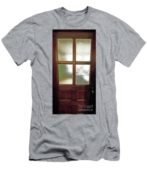 Men's T-Shirt (Athletic Fit) featuring the photograph Yerkes Observatory Williams Bay Door 13 Jele3503 by Tom Jelen